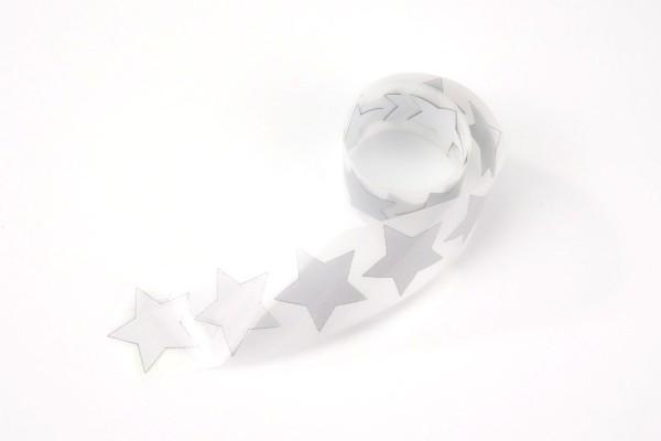 Stern | Reflektierendes Bügelbild Meterware | 2,5 cm |