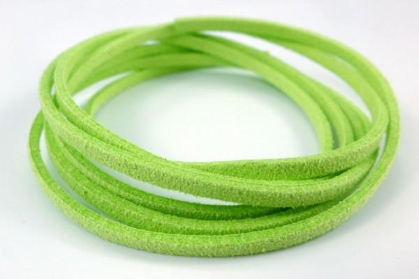Band aus Wildlederimitat | Gras-Grün