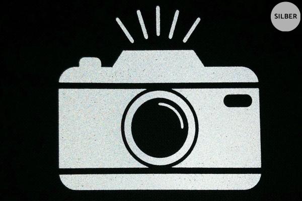 Kamera | Reflektierendes Bügelbild | 5 cm |