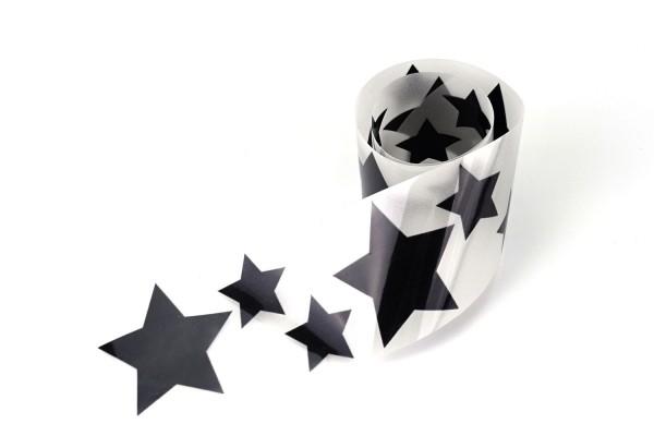 Sternenfamilie | Reflektierendes Bügelbild Meterware | 5 cm |