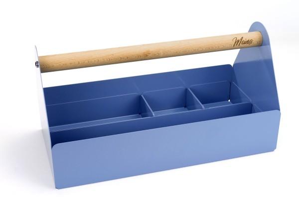 "Komfort-Set | Design-Toolbox Taubenblau | ""Made in Germany"""
