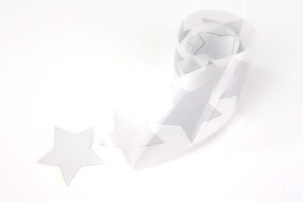 Stern | Reflektierendes Bügelbild Meterware | 5 cm |