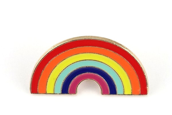 Pin bunter Regenbogen | Rainbow
