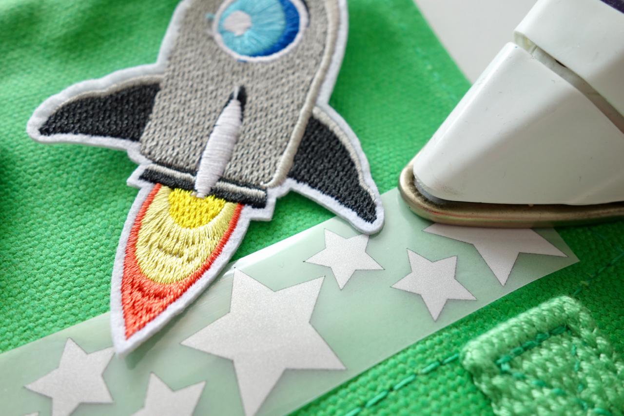 Nähgedöns DIY: Kindergarten-Tasche | Reflektierendes Gedöns
