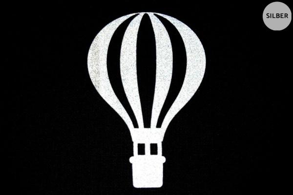 Heißluftballon | Ballon | Reflektierendes Bügelbild | 5 cm |