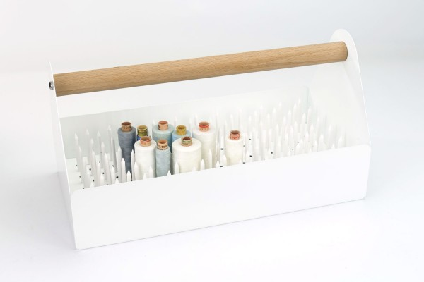 "Garn-Set | Design-Toolbox Weiß | ""Made in Germany"""