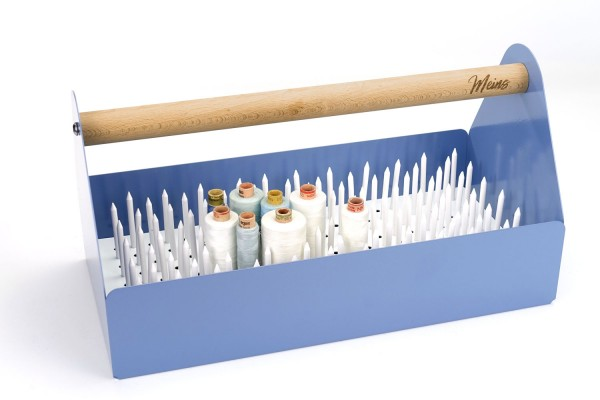 "Garn-Set | Design-Toolbox Taubenblau | ""Made in Germany"""