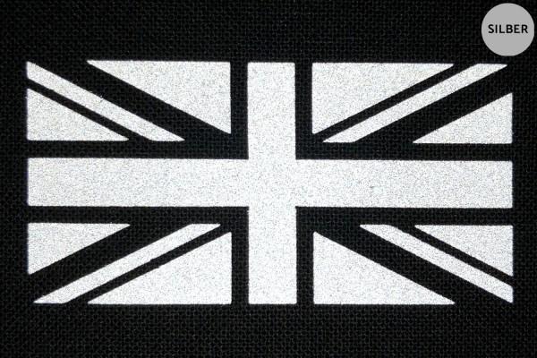 Union Jack | Reflektierendes Bügelbild | 10 cm |