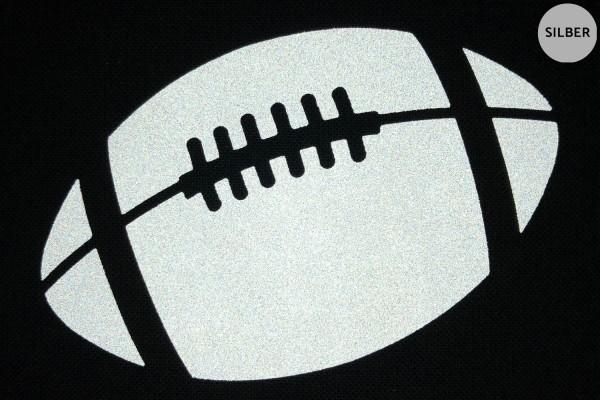 Football | Reflektierendes Bügelbild Meterware | 2,5 cm |