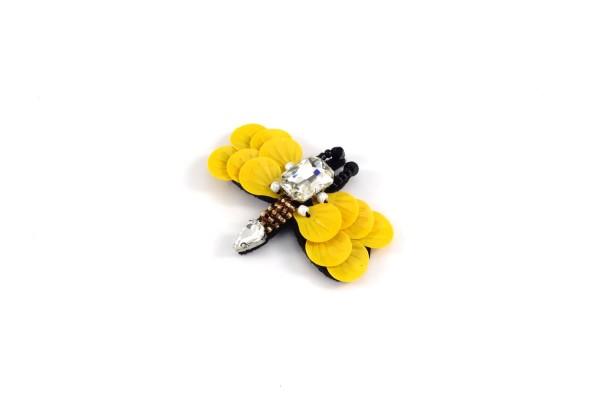Wespe Aufnäher | Patch | Gelb mit Schwarz