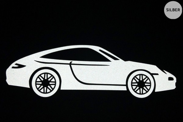 Sportwagen | Reflektierendes Bügelbild | 5 cm |