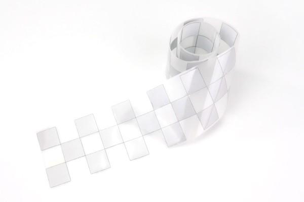 Checkered Flag (3-fach) | Zielflagge | Meterware Reflektorfolie | 5 cm |