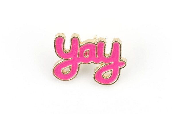 "Pin ""YAY"" 