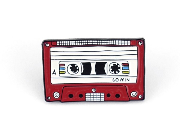 Pin Kassette | Tape | A-Seite | Rost-Rot