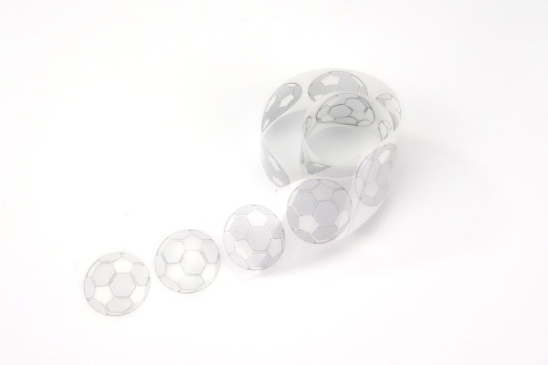 Ball | Reflektierendes Bügelbild Meterware | 2,5 cm |