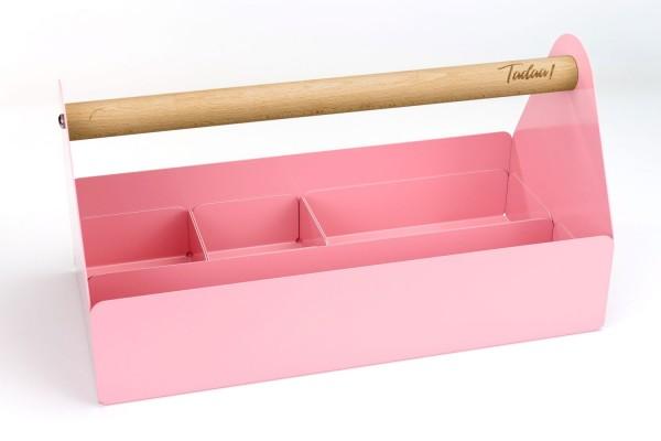 "Komfort-Set | Design-Toolbox Hellrosa | ""Made in Germany"""