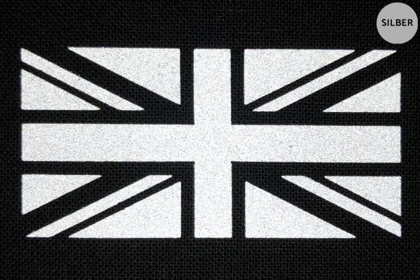 Union Jack | Reflektierendes Bügelbild 2er-Set | 2,5 cm |