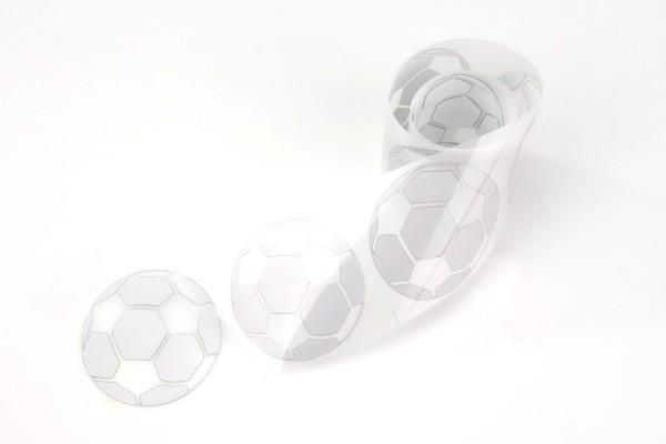 Ball   Reflektierendes Bügelbild Meterware   5 cm  